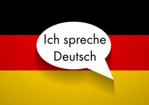 Vector Sign Speaking German
